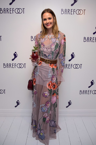Celebs bare their 'soles' at the Barefoot House of Sole party, a celebration of self expression held at Soho's 19 Greek Street - 24 Apr 2018.