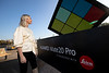 Huawei unveil giant AI-powered Rubik's Cube in London - 25th Oct 2018