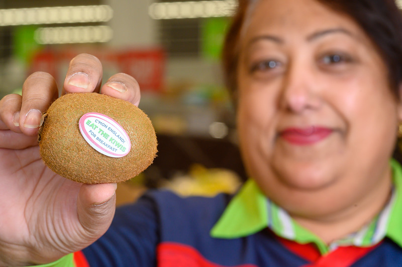 Asda - Eat the Kiwis for Breakfast