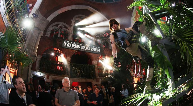 Tomb Raider Launch