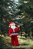 LEGO Santa chooses Covent Garden Christmas tree