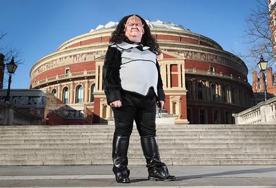 28/02/18 - Royal Albert Hall staff learn Klingon ahead of Star Trek in Concert Shows