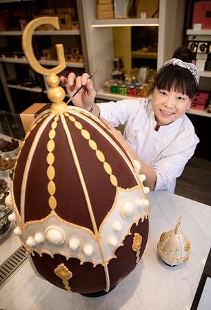 28/3/18 -  Godiva unveils £5,000 giant Atelier Easter Egg