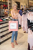 Mollie King shopping for lingerie