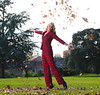 Jodie Kidd launching new sport of Leaf Jumping