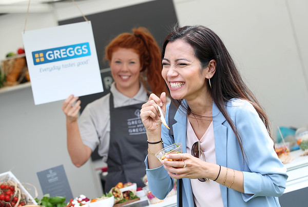 30/5/18 - GREGGS GETS A GOURMET MAKEOVER  (For one day only)