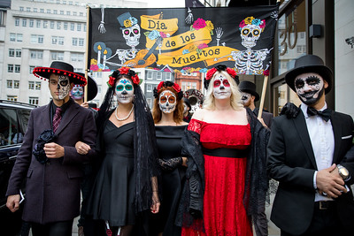 31/10/17 - Ella Canta celebrates Day of the Dead with Painted Black Menu