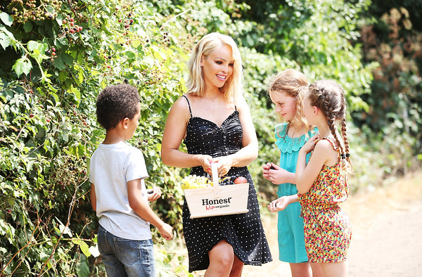 31/7/18 - HONEST Kids and Katie Piper - Pick Your Own Summer campaign