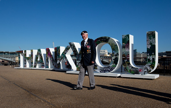 3/8/18 - The Royal British Legion - Thank You Installation - London,