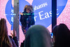 Fleur East turns on Debenhams Christmas Lights
