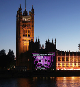 4/7/18  Be More Pirate Projections - Houses of Parliament