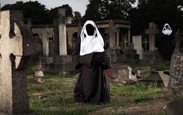 4/9/18 - CELEBRITY SCREENING OF  THE NUN AT BROMPTON CEMETERY