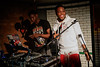 Yxng Bane fires up guests at a secret party celebrating Nando's Music Exchange entering its fourth year. The global workshop will take place 4th June - 7th June this year, and welcomes young musicians from Canada, Australia, South Africa and the UK.<br /> <br /> FREE FOR EDITORIAL REPRODUCTION
