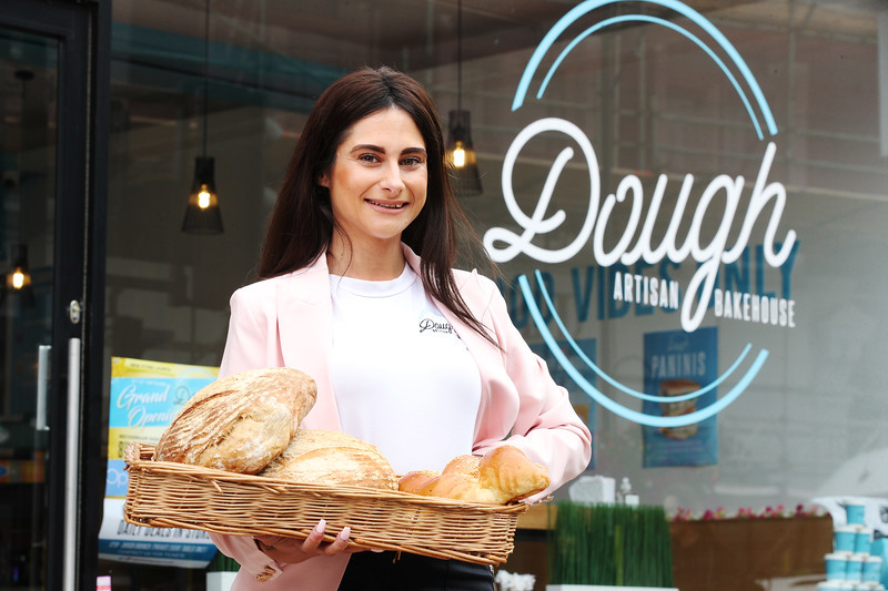 Lord Sugar joins The Apprentice winner for Dough Bakehouse branch opening