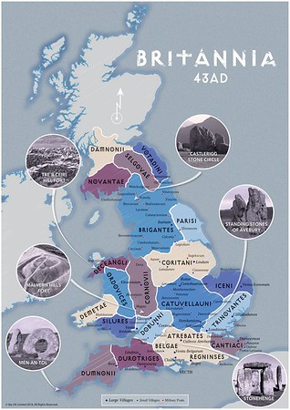 22/3/18 - BRITANNIA: SEASON 1 - Mapping Britannia AD43