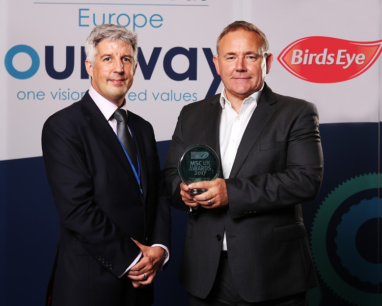 Birds Eye has been awarded UK Frozen Brand of the Year by the Marine Stewardship Council (MSC).