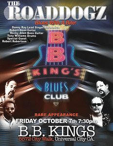 bb kings   0ct 7thb