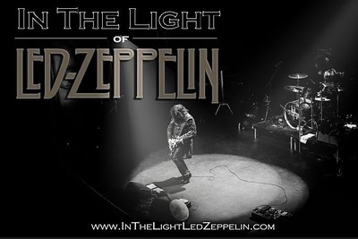Antonio, In The Light of Led Zeppelin, turned into a band poster