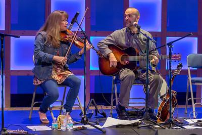 Phenomenal musicians Gretchen and Tim May