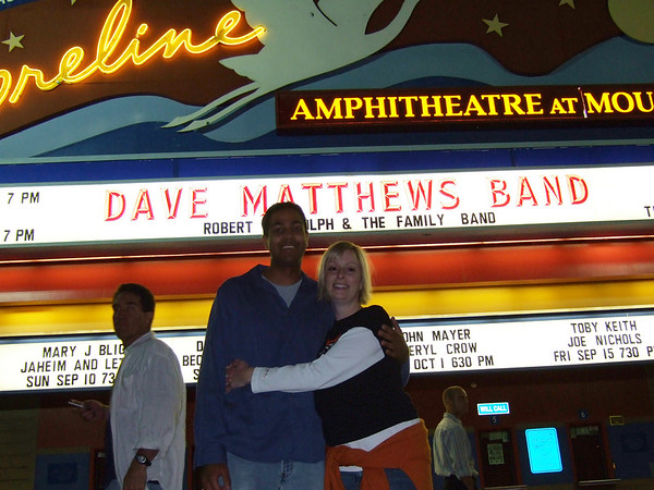 Amit's first DMB show.  GYEAH!
