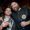...brother Pat with Brock of 36 Crazyfists...go Flyers!
