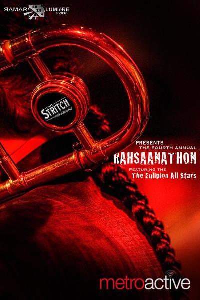 4th Annual Rahsaanathon: Cafe Stritch San Jose ~ 06 Aug 2016