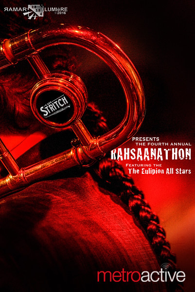 4th Annual Rahsaanathon: Cafe Stritch San Jose ~ 06 Aug 2016