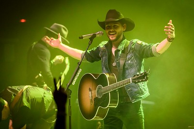 Brett Kissel Performs in Toronto