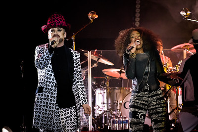 Culture Club Performs in Toronto