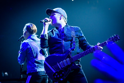 Fall Out Boy Performs in Toronto