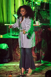 Jill Scott Performs in Toronto