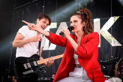July Talk Perform in Toronto