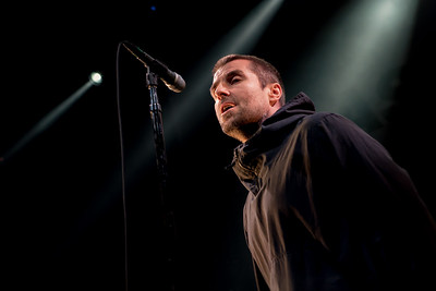 Liam Gallagher Performs in Toronto