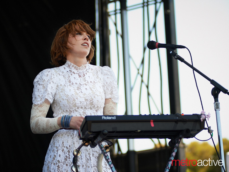 "Grouplove performaning at BFD 2012 held on June 2nd, 2012 at the Shoreline Amphitheater.  Photo by Peter Adams / In Startup Land - <a href=""http://www.instartupland.com"">http://www.instartupland.com</a>"