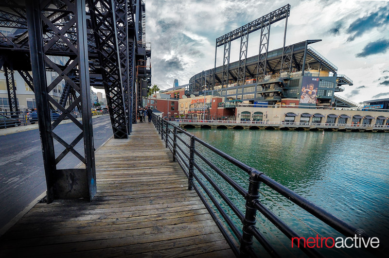 AT&T Park - home of the San Franciso Giants