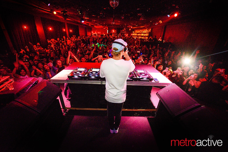 EDM star Diplo performs before a SOLD OUT crowd at The Ritz