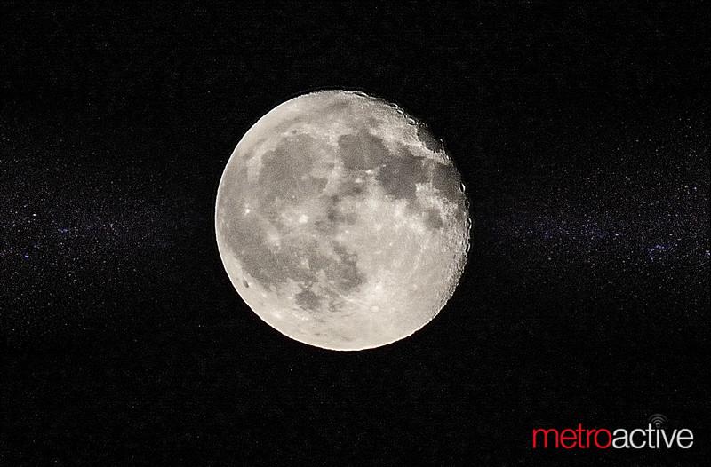 "Full Moon over Mt. View CA ~ Jason Aldean's ""Six String Circus"" Tour - 19 August 2016"