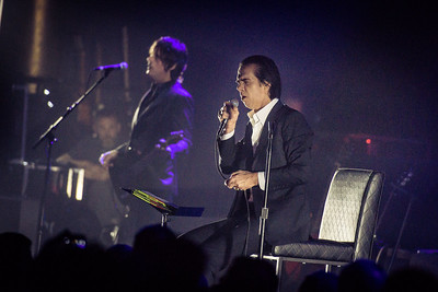 Nick Cave Performs in Toronto