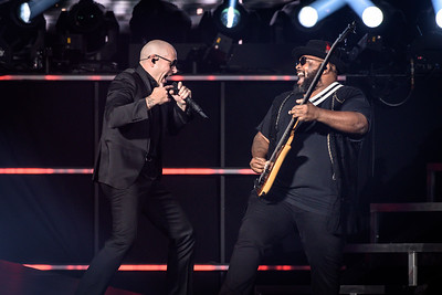 Pitbull performs in Toronto
