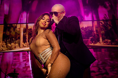MUSIC - Pitbull Performs in Toronto