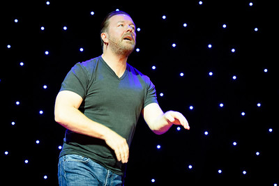 Ricky Gervais Performs in Toronto