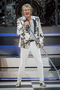 Rod Stewart Performs in Toronto