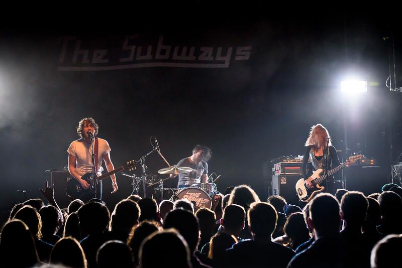 The Subways Perform in Toronto