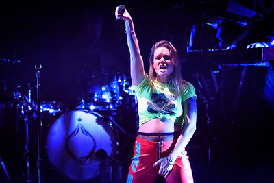 Tove Lo Performs in Toronto