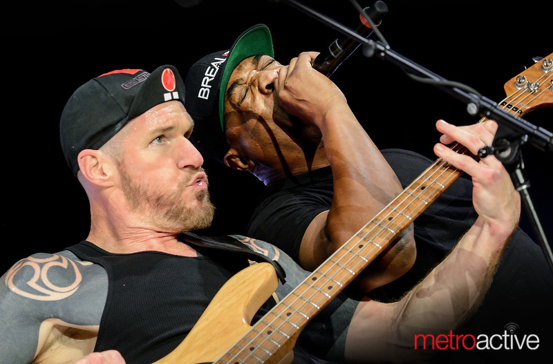 Tim Commerford & Chuck D (Public Enemy) of Prophets of Rage