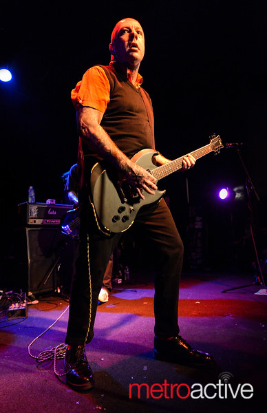 Lars Frederiksen of The Old Firm Casuals & Rancid - The Ritz