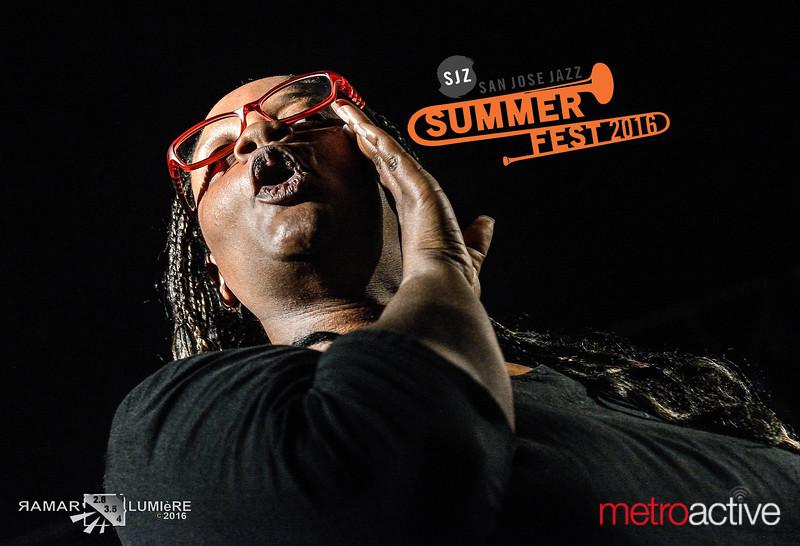 SJZ: San Jose Jazz ~ Summer Fest 2016  August 12-14