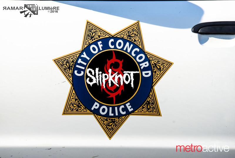 SlipKnot / Marilyn Manson ~ Concord Pavilion 13 Aug 2016