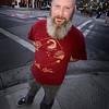 San Jose's very own living garden gnome, Dan Delay