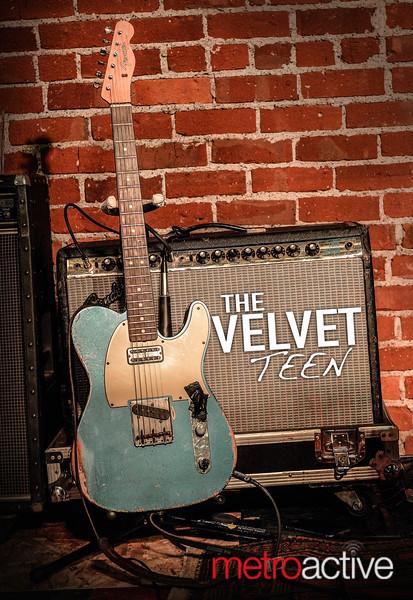 The Velvet Teen ~ Cafe Stritch 20 August 2015